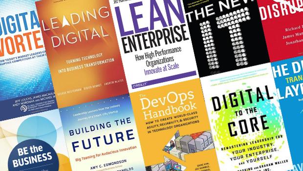 10 recomandări de cărți despre transformarea digitală pentru liderii din IT și afaceri