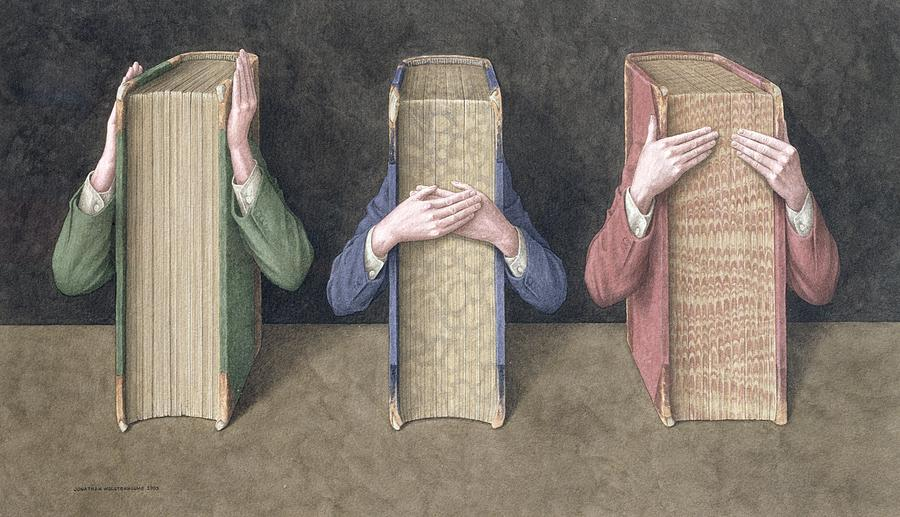 three-wise-books-2005-wc-on-paper-jonathan-wolstenholme