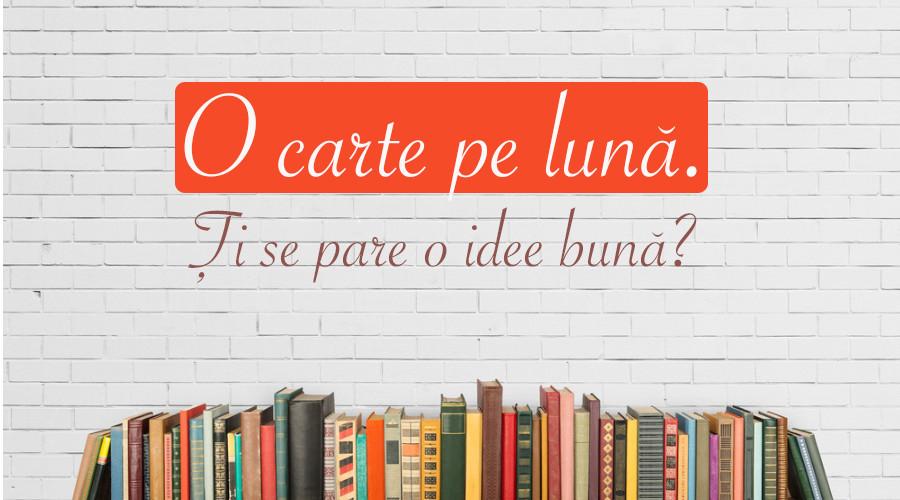 5 scriitori renumiți îți spun de ce e bine să citești. Începe cu o carte pe lună